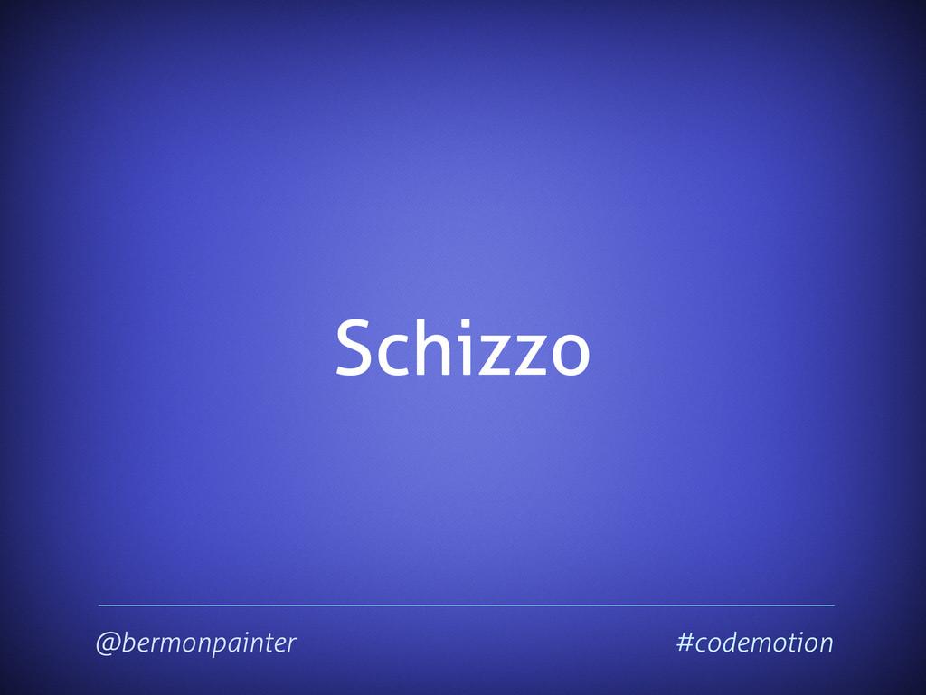 Schizzo @bermonpainter #codemotion