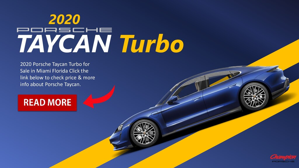 TAYCAN Turbo 2020 2020 Porsche Taycan Turbo for...