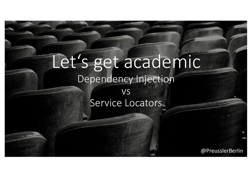 @PreusslerBerlin Let's get academic Dependency ...