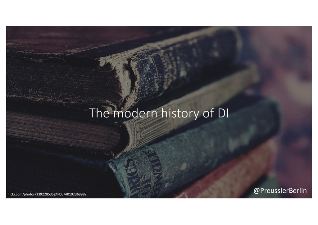 @PreusslerBerlin The modern history of DI flick...