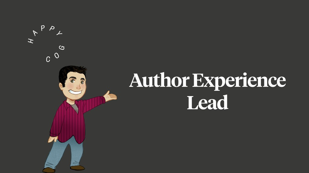 Author Experience Lead