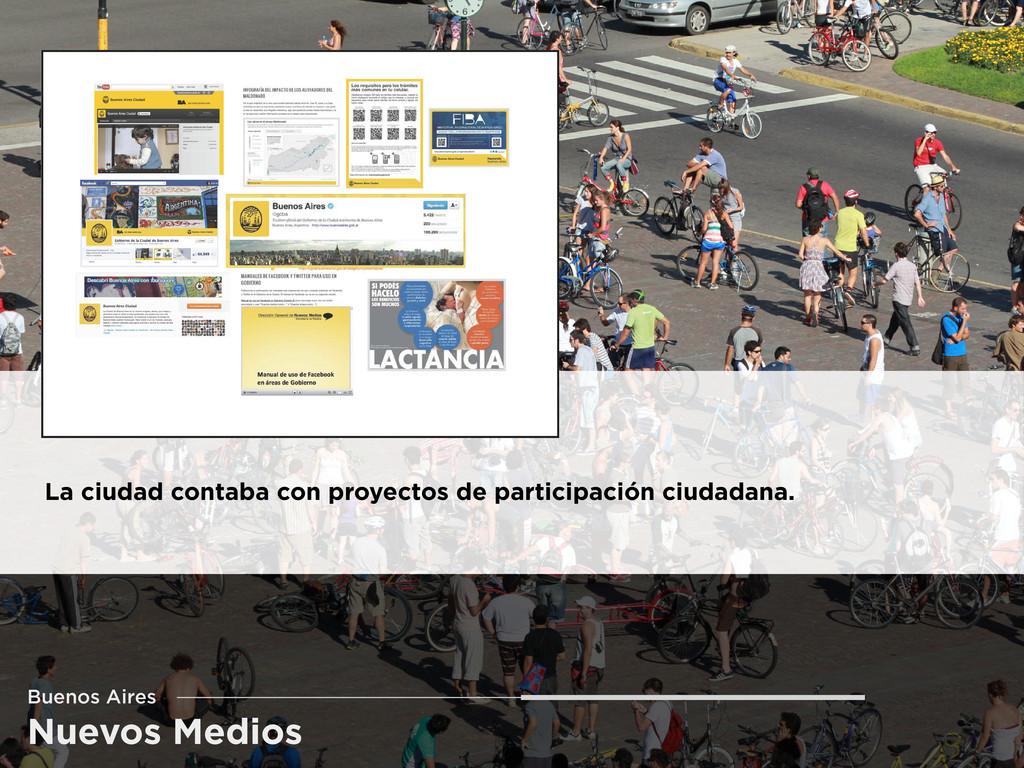 Nuevos Medios Buenos Aires La ciudad contaba co...