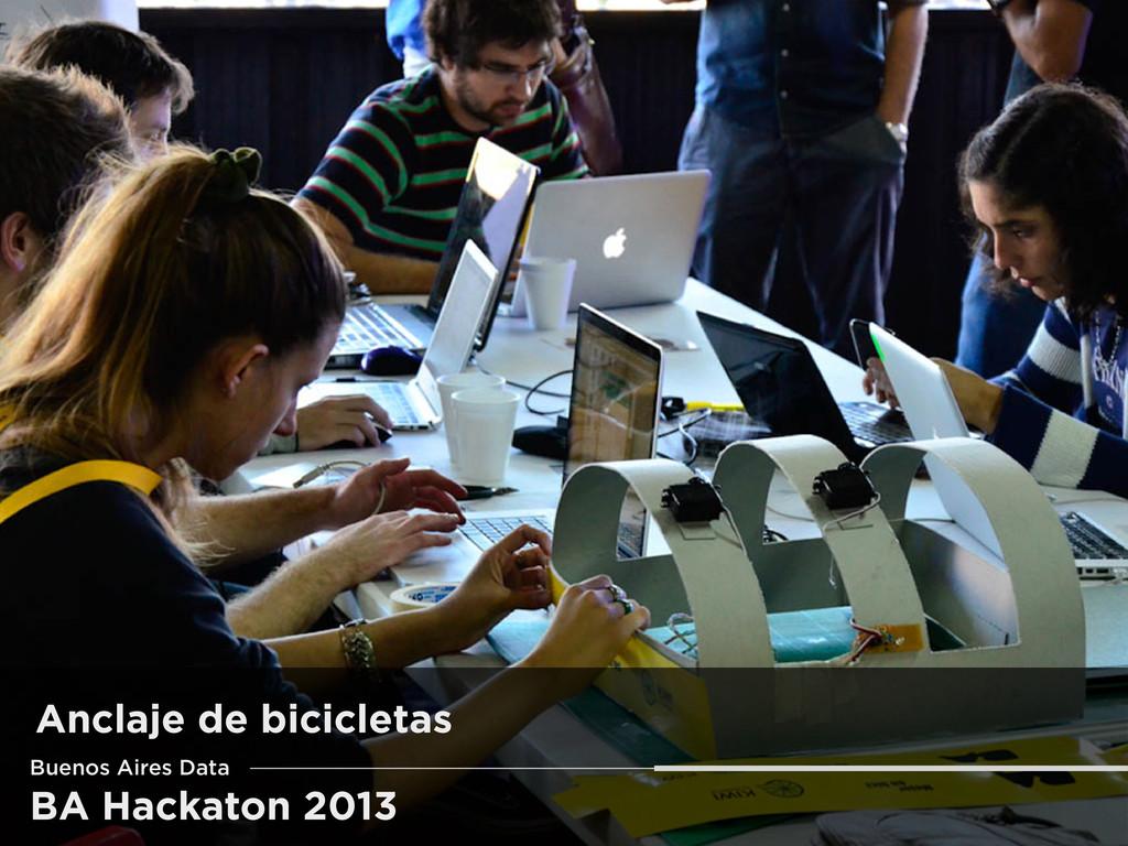 BA Hackaton 2013 Buenos Aires Data Anclaje de b...