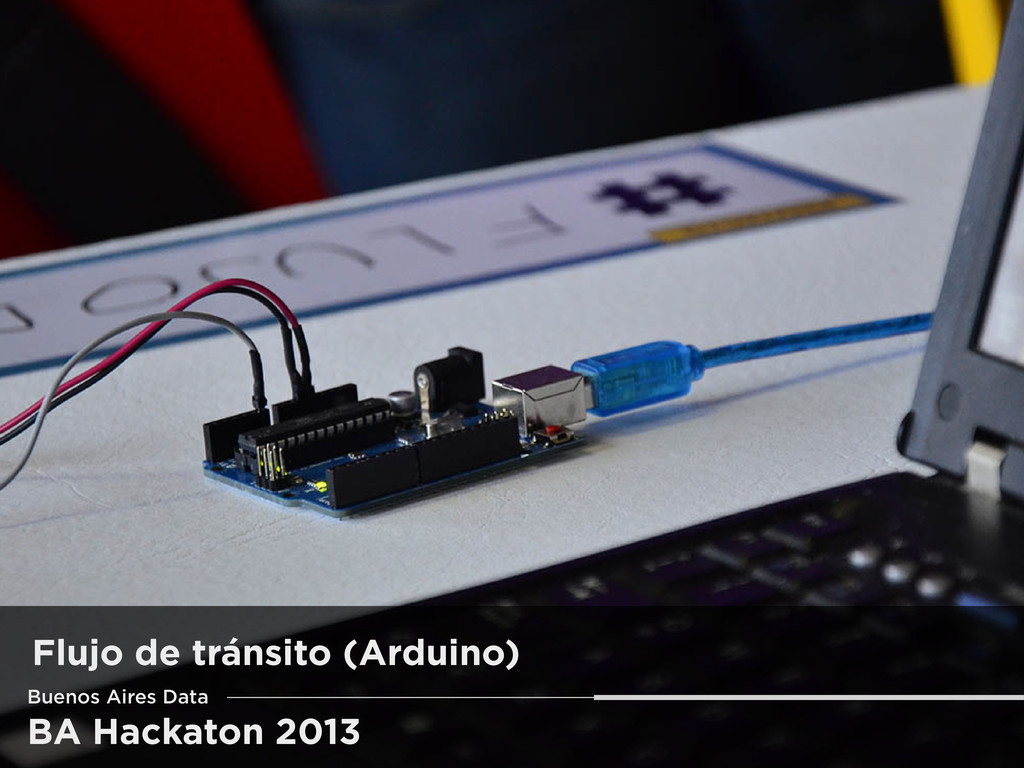 BA Hackaton 2013 Flujo de tránsito (Arduino) Bu...
