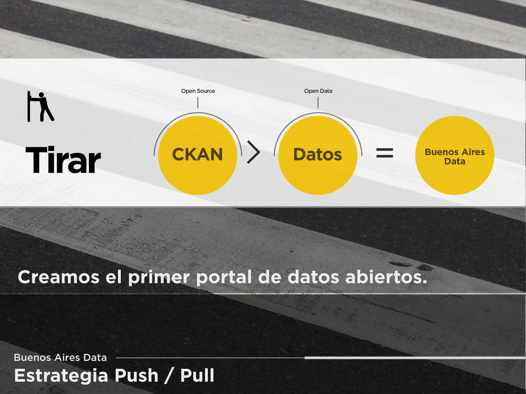 Estrategia Push / Pull Buenos Aires Data Tirar ...