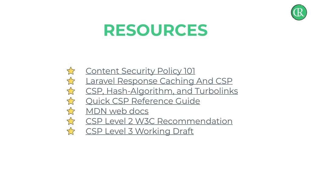 Content Security Policy 101 Laravel Response Ca...