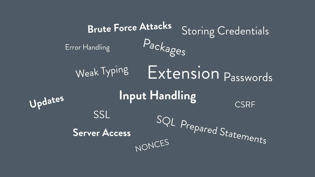 SSL Input Handling Updates Packages Extension C...