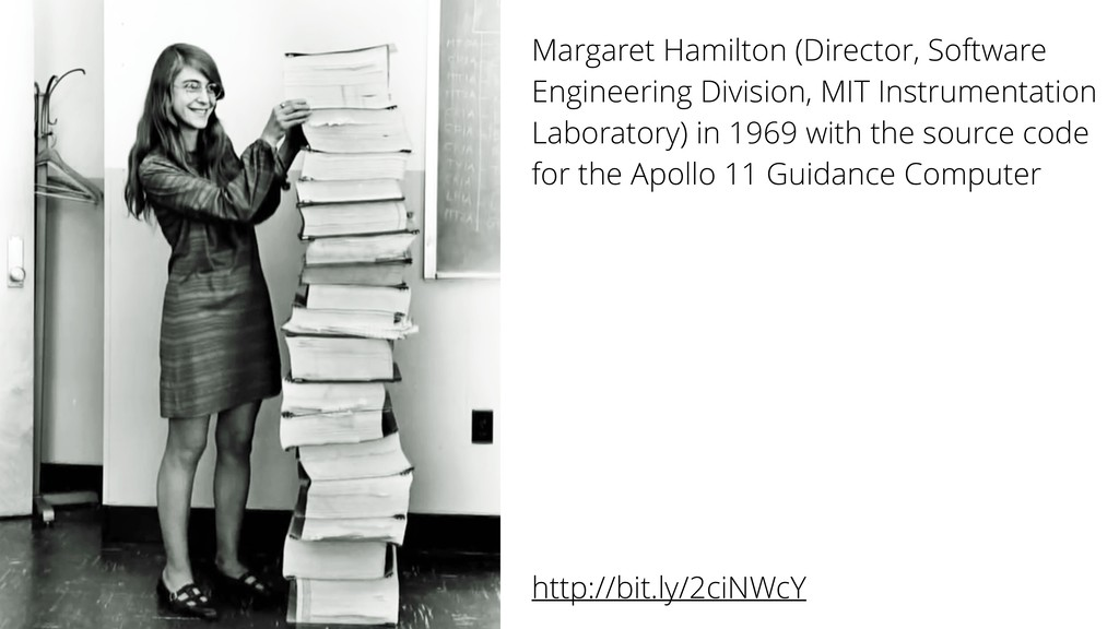 Margaret Hamilton (Director, Software Engineeri...