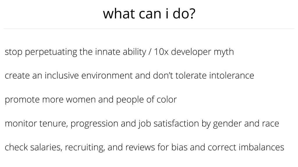 promote more women and people of color stop per...