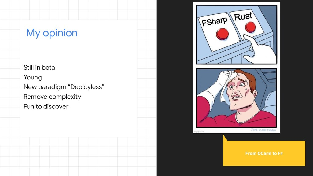 "Still in beta Young New paradigm ""Deployless"" R..."