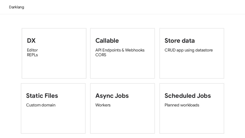 Darklang Callable API Endpoints & Webhooks CORS...