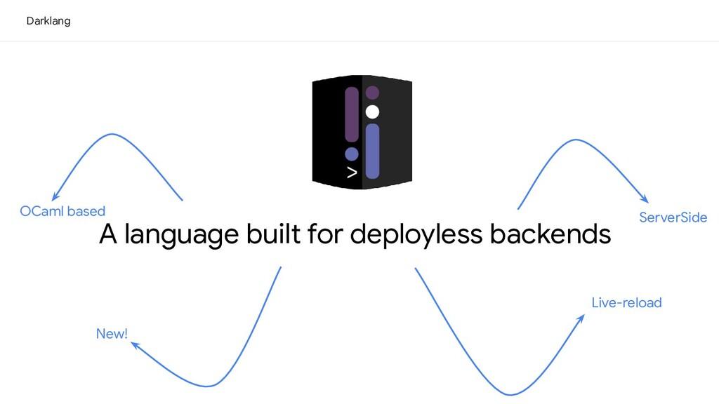 Live-reload OCaml based A language built for de...