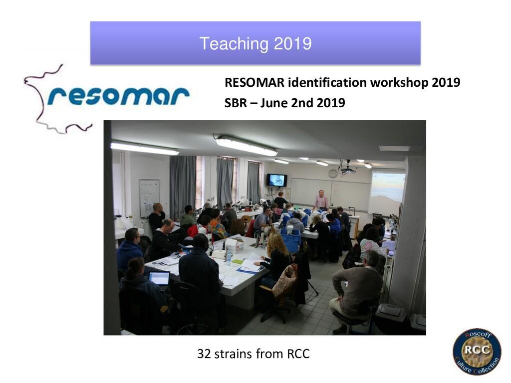 RESOMAR identification workshop 2019 SBR – June...