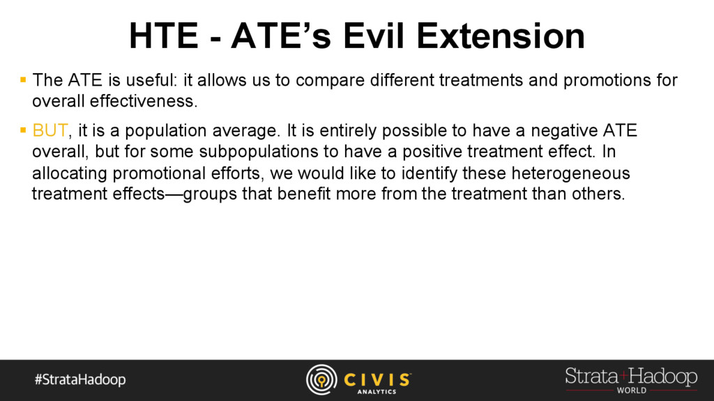 HTE - ATE's Evil Extension §  The ATE is useful...