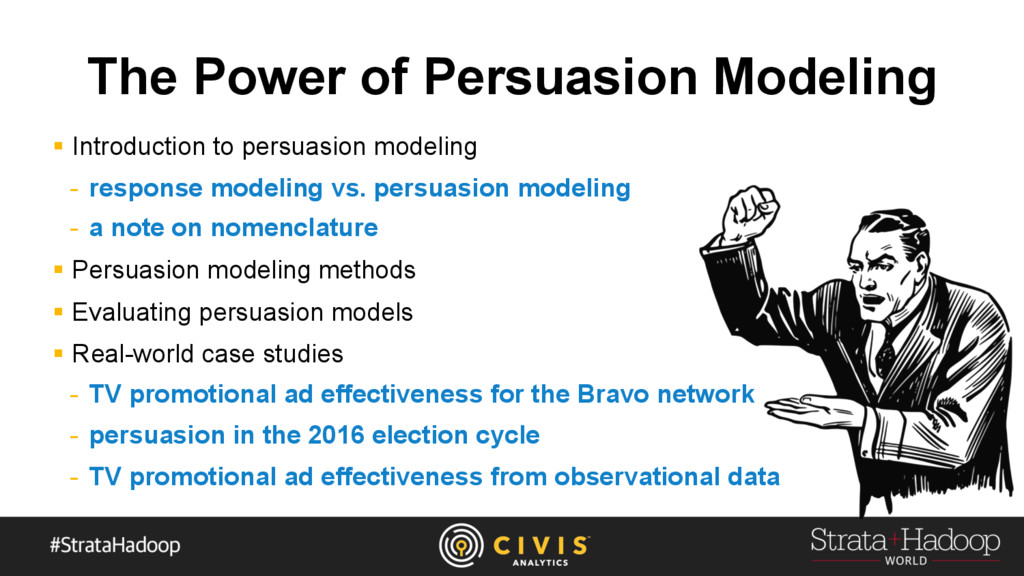 The Power of Persuasion Modeling §  Introductio...