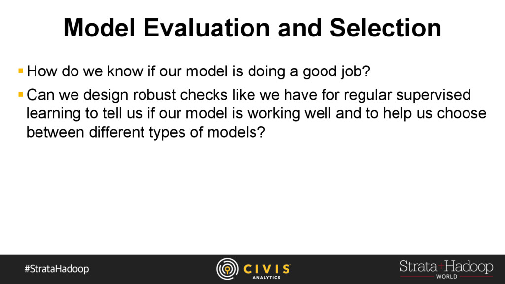 Model Evaluation and Selection § How do we know...