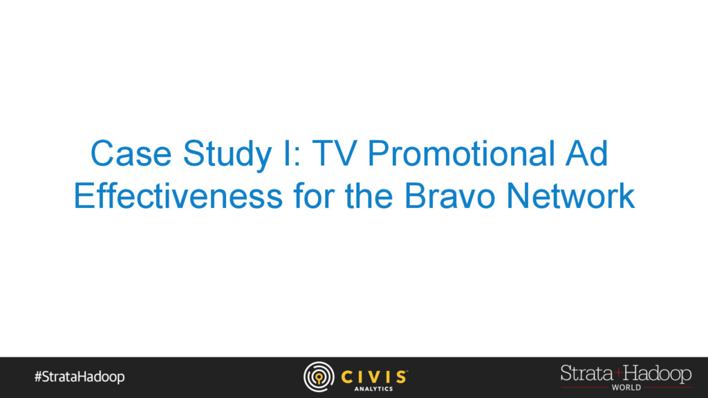 Case Study I: TV Promotional Ad Effectiveness f...