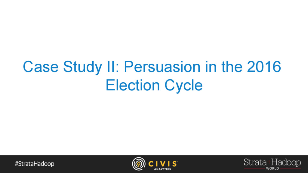 Case Study II: Persuasion in the 2016 Election ...