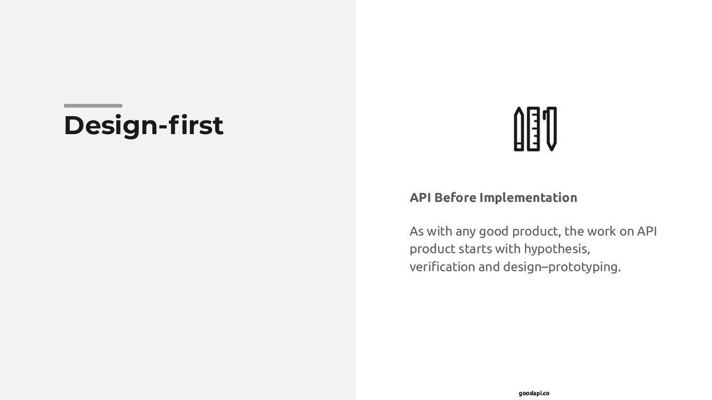 goodapi.co Design-first API Before Implementatio...