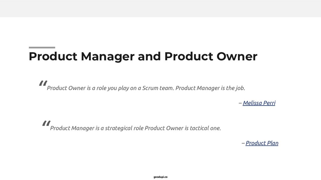 goodapi.co Product Manager and Product Owner Pr...