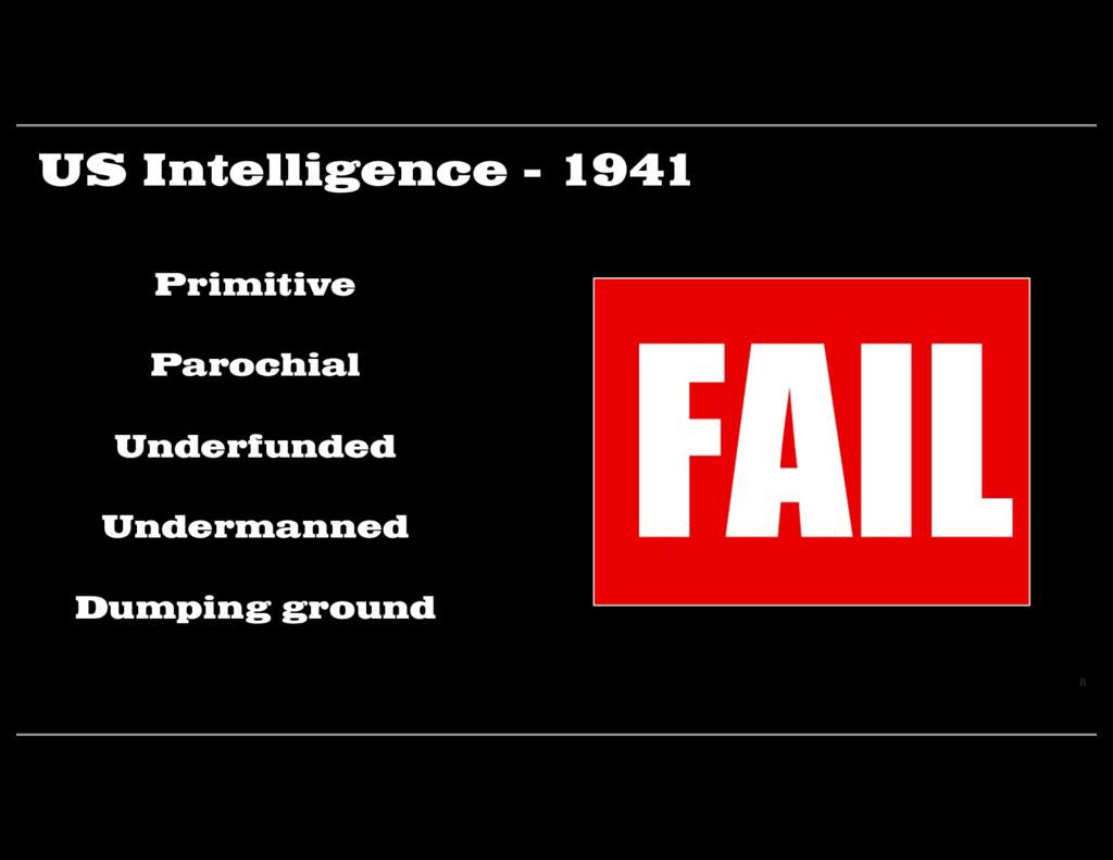US Intelligence - 1941 8 Primitive Parochial Un...