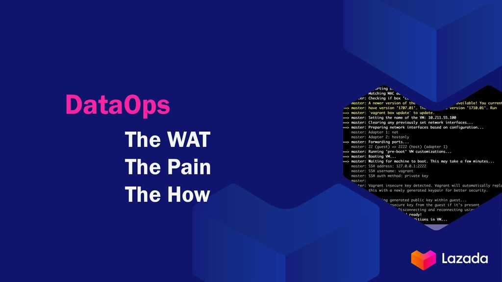 DataOps The WAT The Pain The How