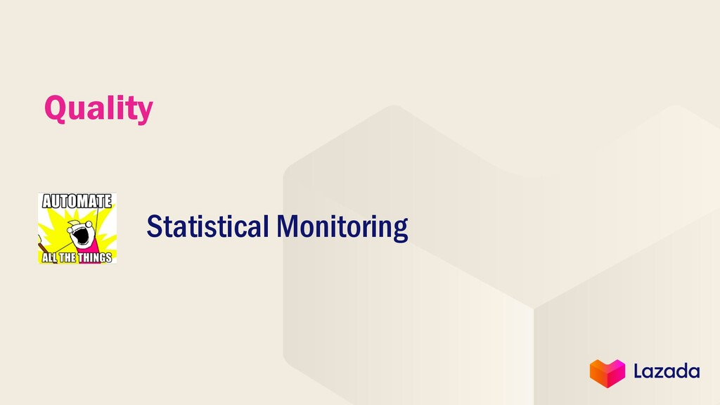 Quality Statistical Monitoring