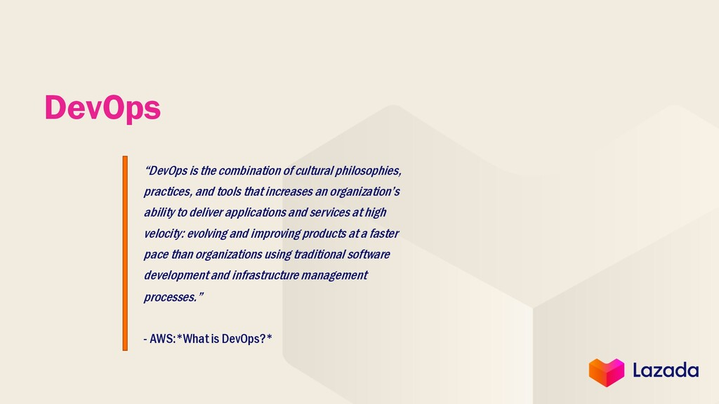"""DevOps is the combination of cultural philosop..."