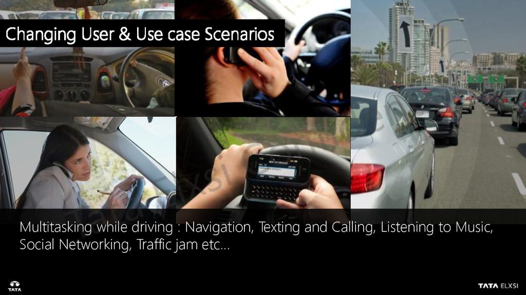 Multitasking while driving : Navigation, Textin...