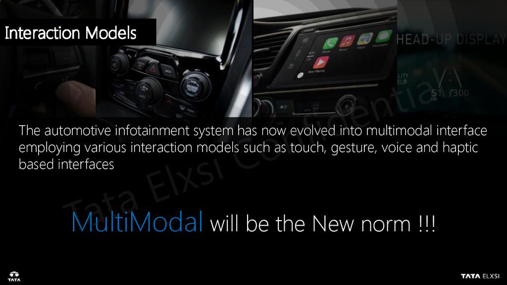 The automotive infotainment system has now evol...