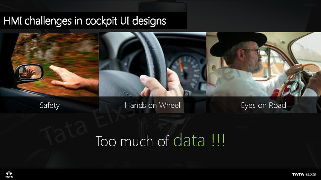 Hands on Wheel Eyes on Road Too much of data !!...