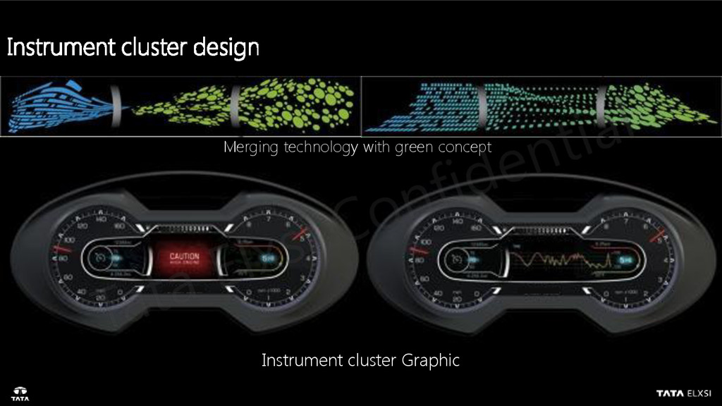 Instrument cluster Graphic Merging technology w...
