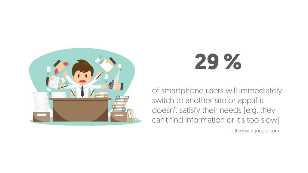 29 % of smartphone users will immediately switc...