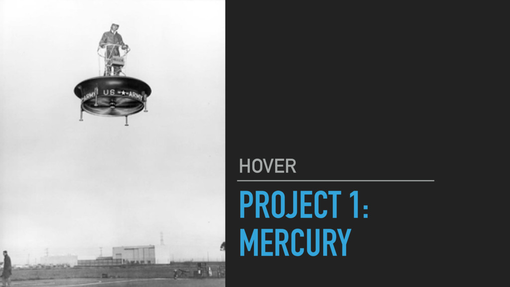 PROJECT 1: MERCURY HOVER