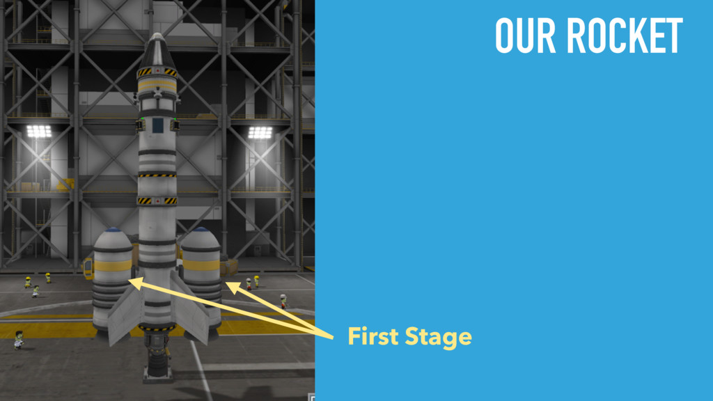 First Stage OUR ROCKET