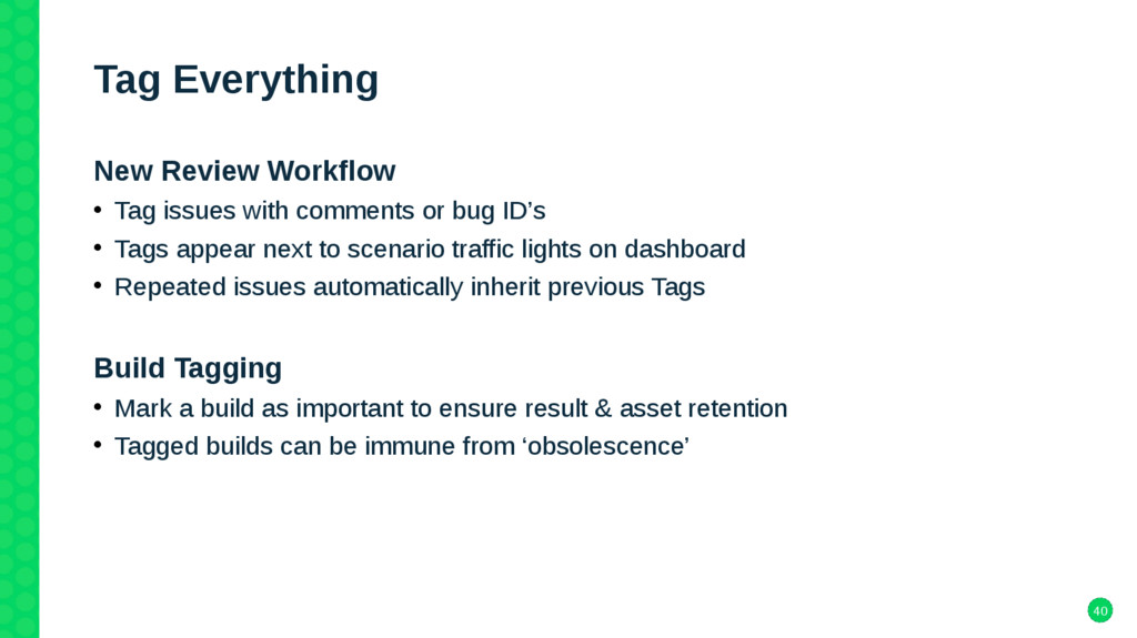 40 Tag Everything New Review Workflow • Tag iss...