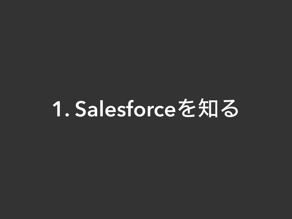 1. SalesforceΛΔ