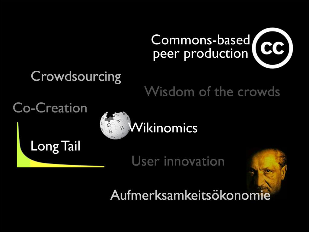 Wikinomics Aufmerksamkeitsökonomie Commons-base...
