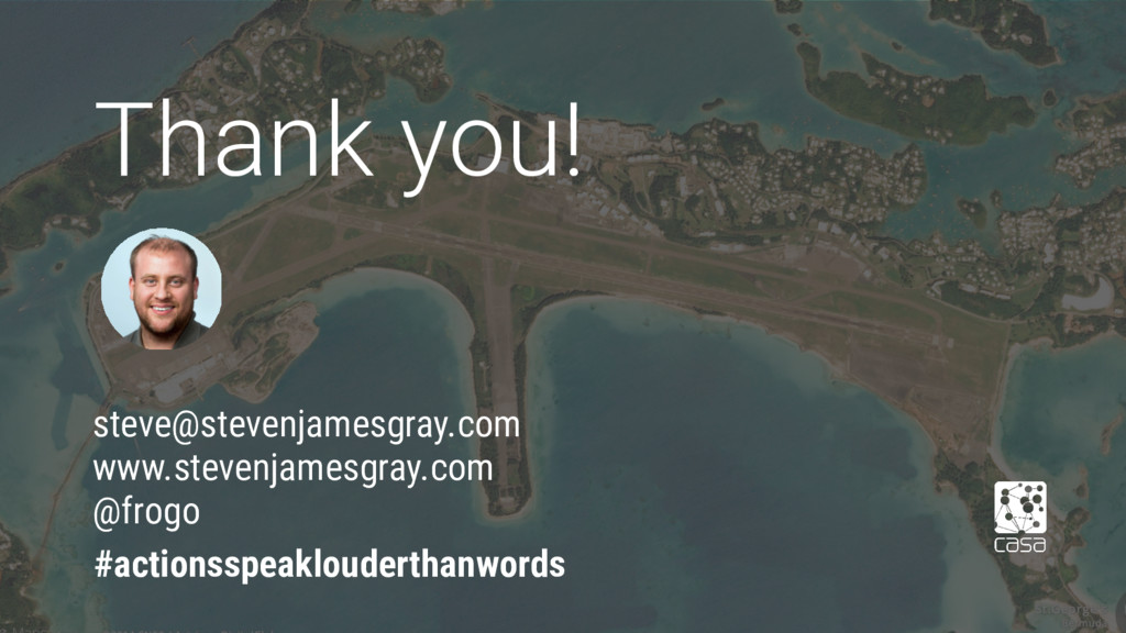 Thank you! #actionsspeaklouderthanwords steve@s...