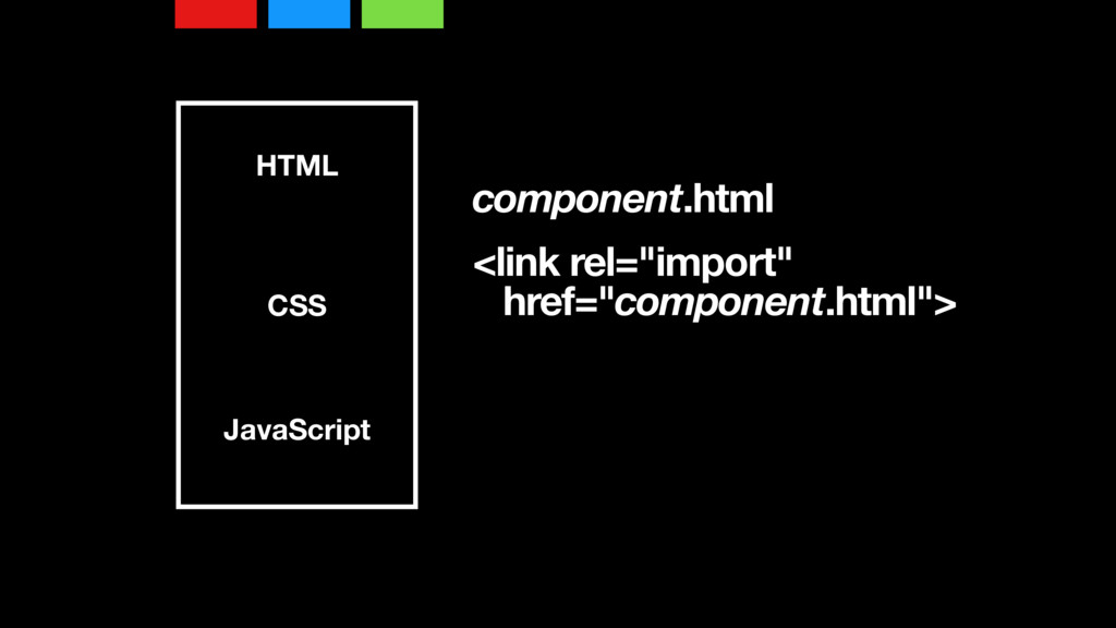 "HTML CSS JavaScript component.html <link rel=""i..."