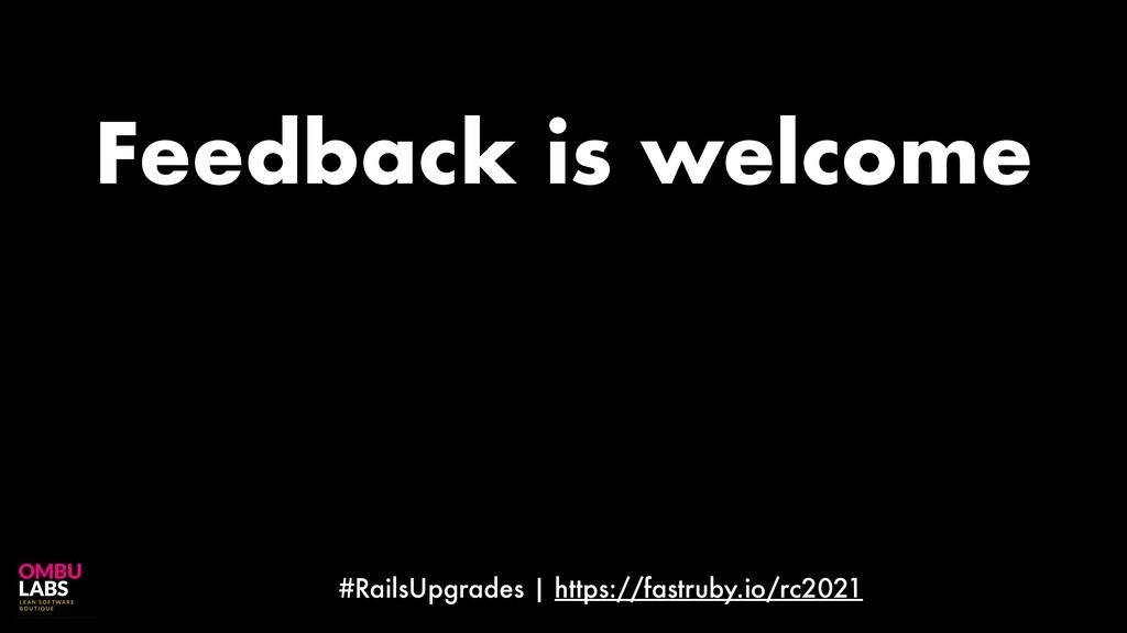 #RailsUpgrades | https://fastruby.io/rc2021 Fee...