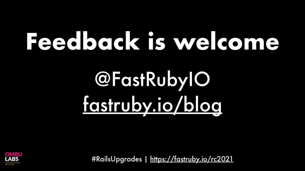 #RailsUpgrades | https://fastruby.io/rc2021 @Fa...