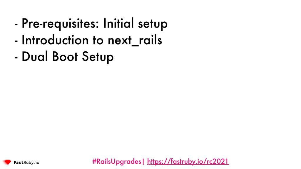 #RailsUpgrades| https://fastruby.io/rc2021 - Pr...