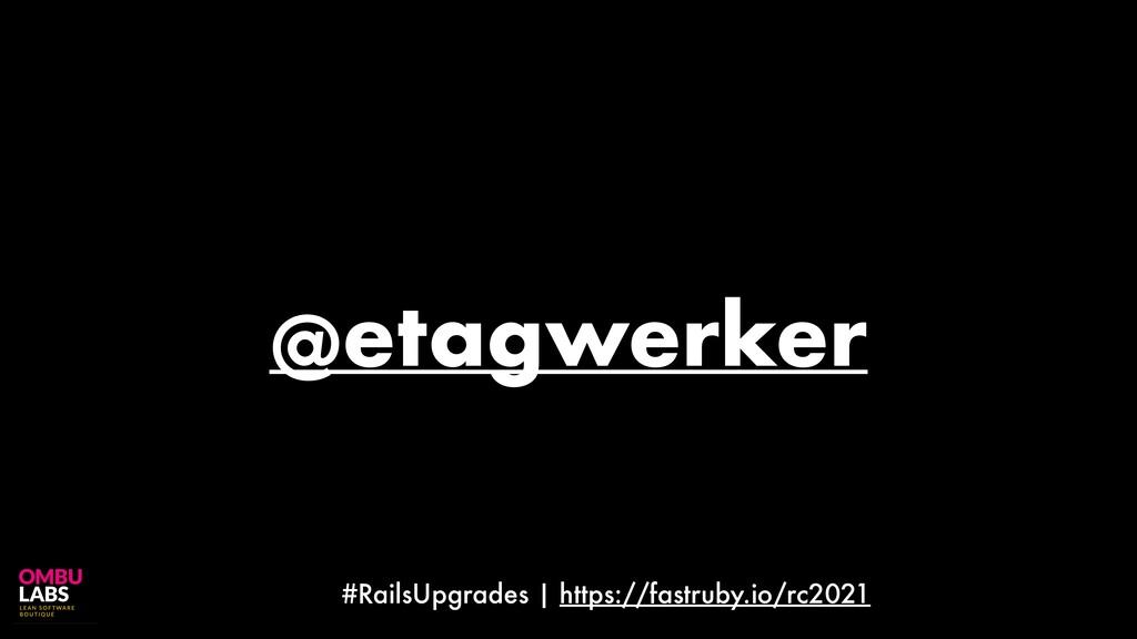 #RailsUpgrades | https://fastruby.io/rc2021 @et...