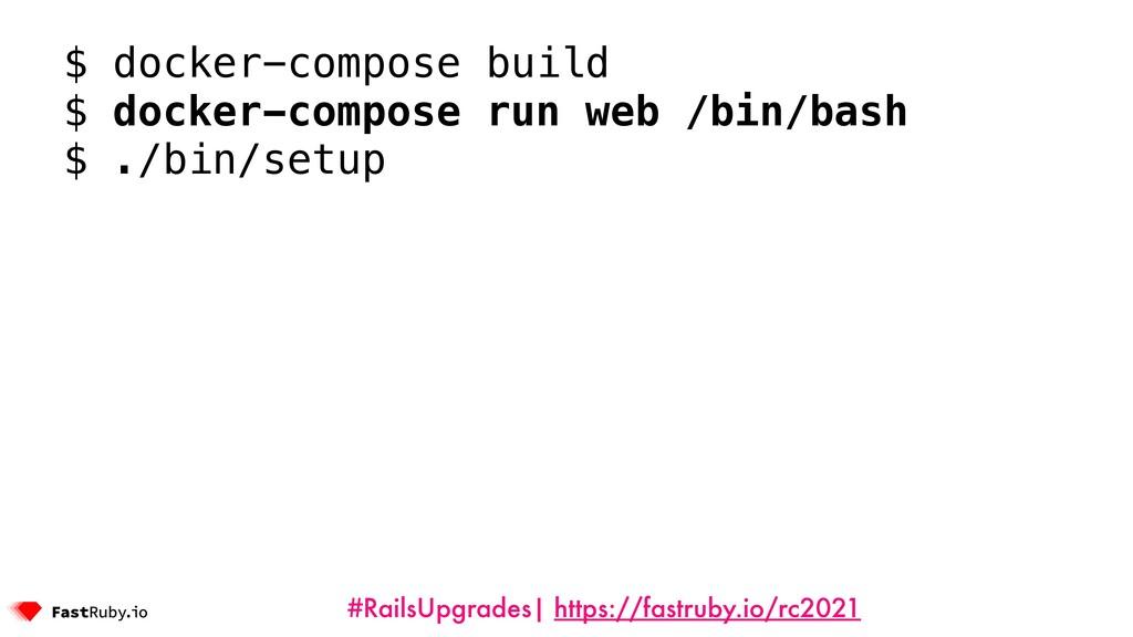 #RailsUpgrades| https://fastruby.io/rc2021 $ do...