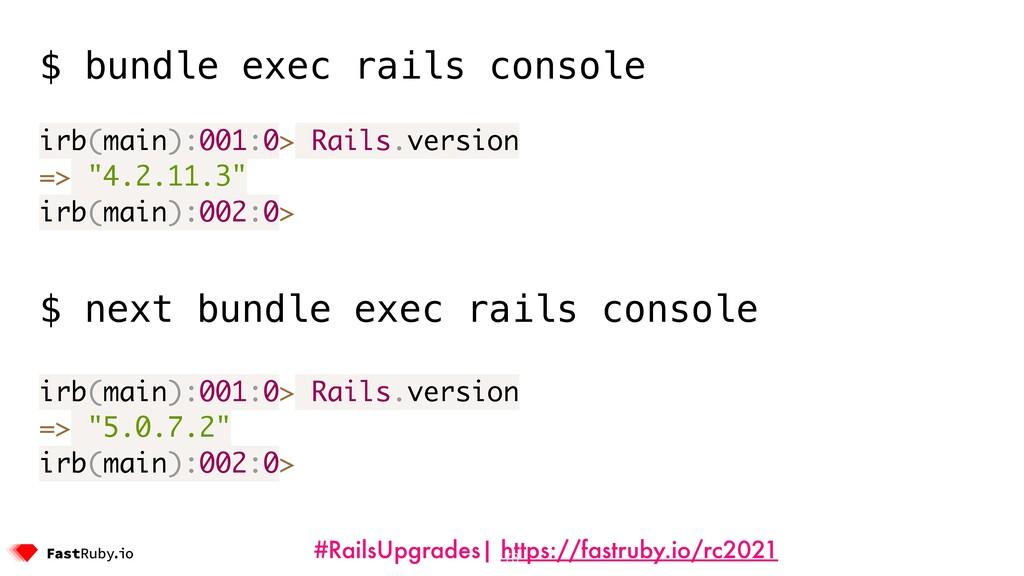 #RailsUpgrades| https://fastruby.io/rc2021 73 $...