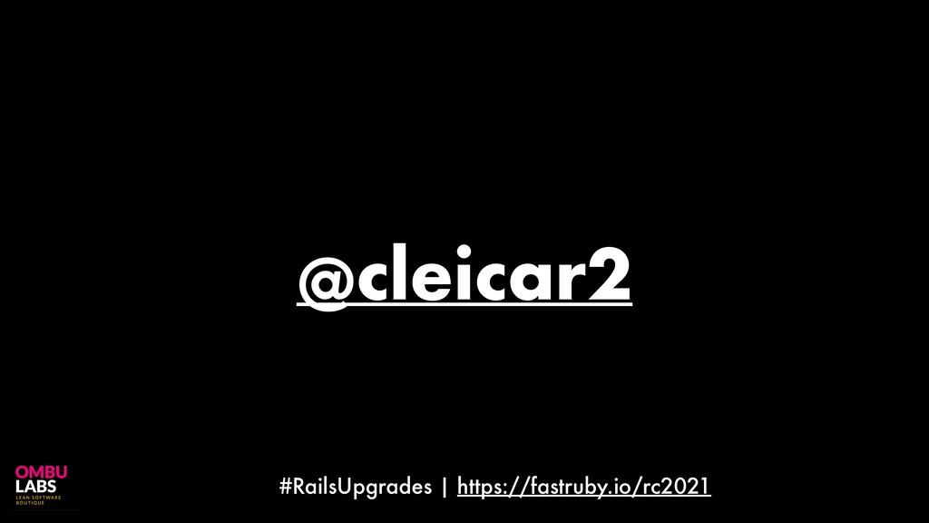 #RailsUpgrades | https://fastruby.io/rc2021 @cl...
