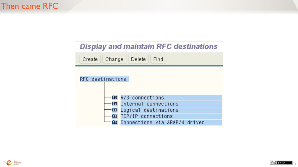 Then came RFC 6