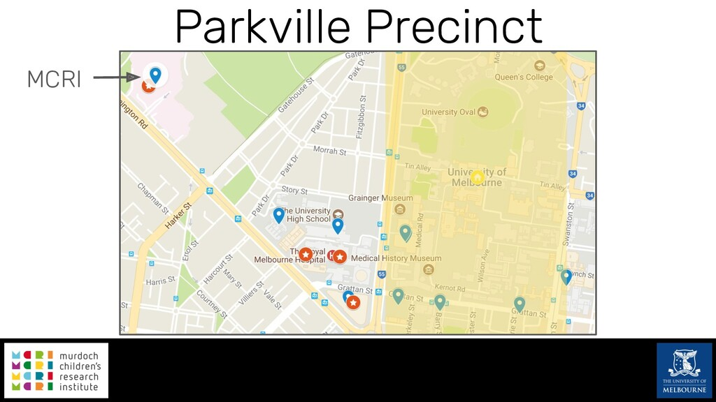 Parkville Precinct MCRI
