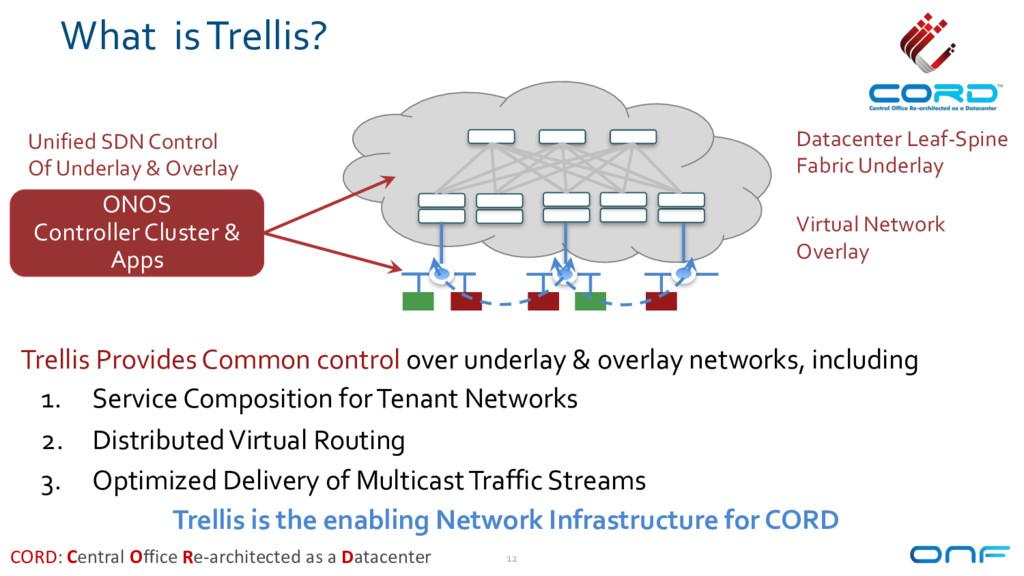 What is Trellis? 12 Datacenter Leaf-Spine Fabri...
